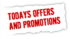 Todays offers and promotions